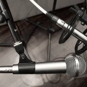 Two mics