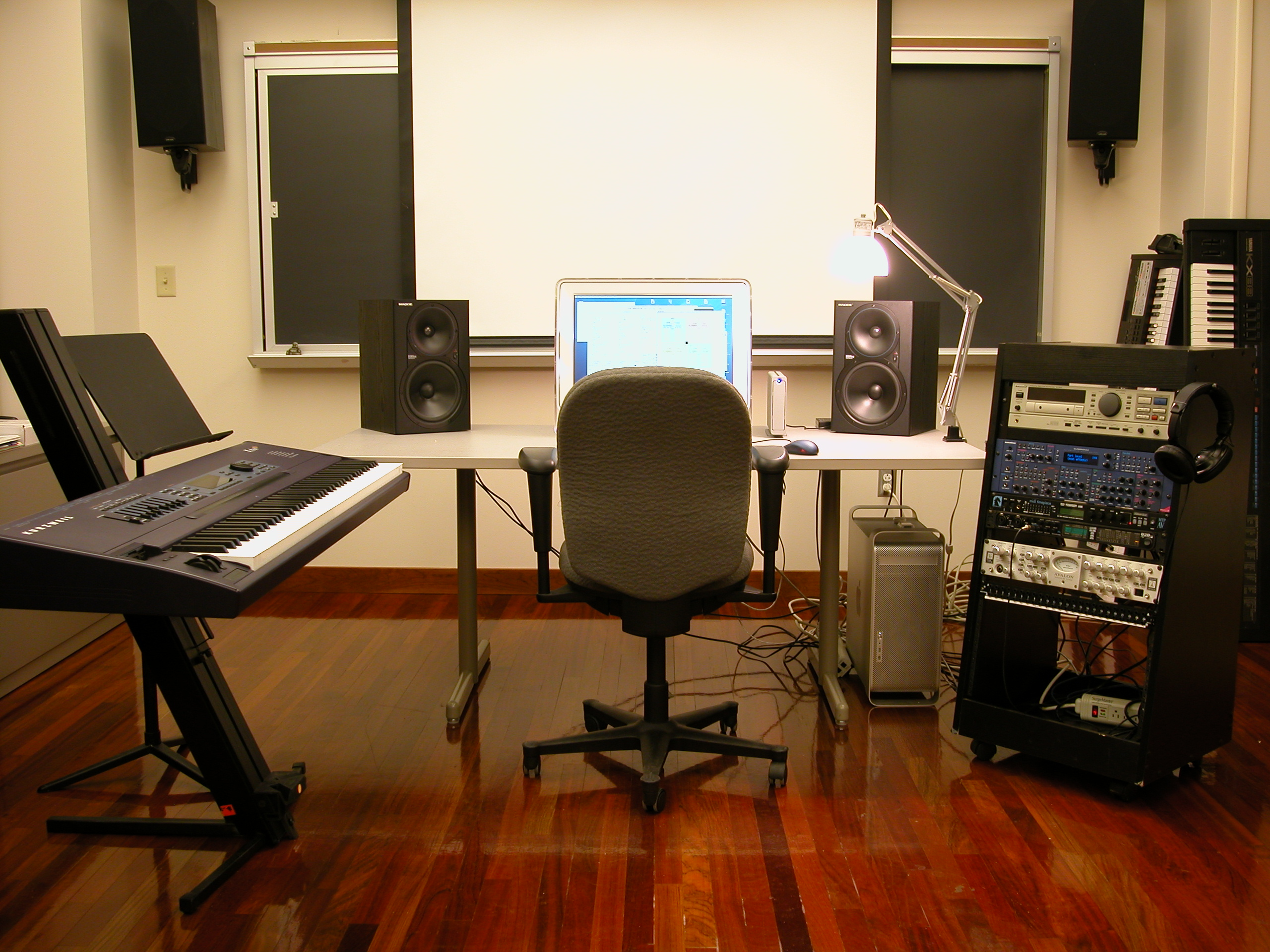 Remarkable Studios Cornell Electroacoustic Music Center Largest Home Design Picture Inspirations Pitcheantrous