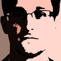 """Recently commissioned for Google Glass--the first piece of its kind--as part of Google's """"Glass Explorer"""" program,""""Adwords/Edward"""" is dedicated to NSA whistleblower Edward Snowden."""